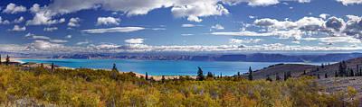 Expansive Photograph - Bear Lake Panoramic by Leland D Howard