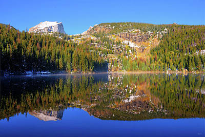 Photograph - Bear Lake Reflections by Greg Norrell