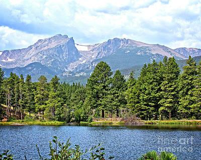Photograph - Bear Lake by Richard Burr