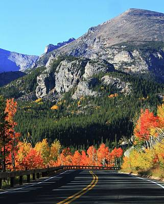 Photograph - Bear Lake Road In Autumn by Dan Sproul