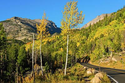 Photograph - Bear Lake Road In Fall by John De Bord