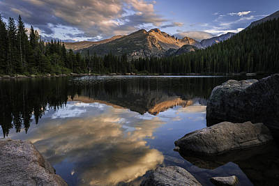 Photograph - Bear Lake Serenade by Expressive Landscapes Fine Art Photography by Thom