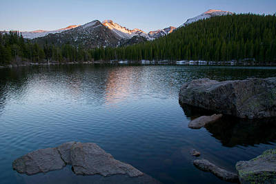 Photograph - Bear Lake Sunset by Aaron Spong