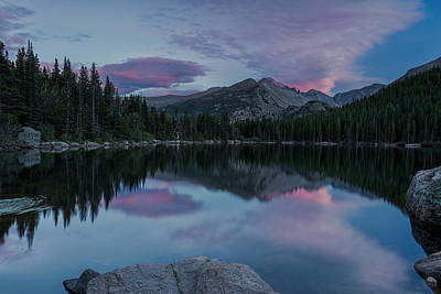 Photograph - Bear Lake Sunset by John Vose