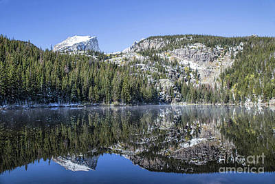 Photograph - Bear Lake View Of Hallett by Lynn Sprowl