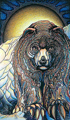 Painting - Bear by Mary Motola