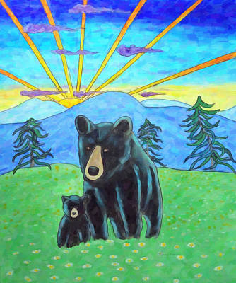 Painting - Bear Meadow Sunrise by Kenny Francis