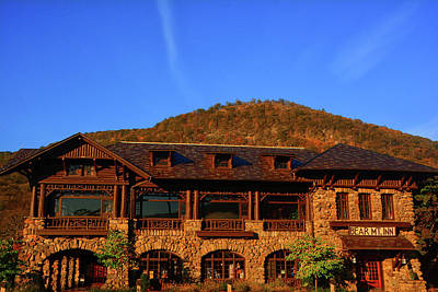 Photograph - Bear Mountain And Bear Mountain Inn by Raymond Salani III