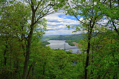 Photograph - Bear Mountain Bridge From Bear Mountain by Raymond Salani III
