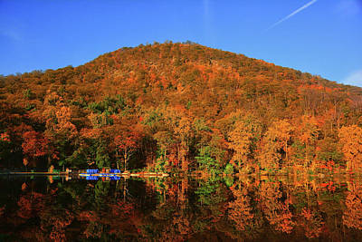 Photograph - Bear Mountain From Hussein Lake by Raymond Salani III