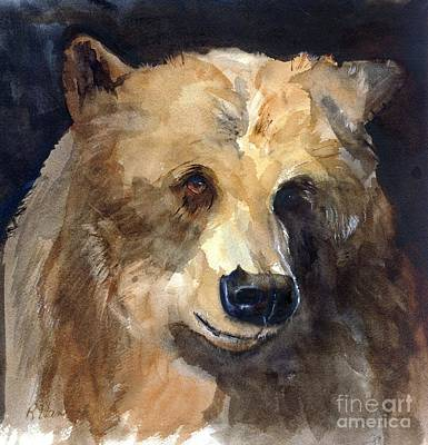 Painting - Bear by Rhonda Hancock