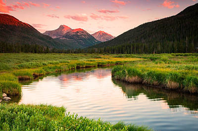 Stillwater Photograph - Bear River Sunset by Johnny Adolphson