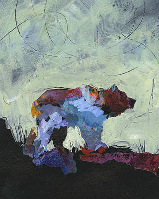 Painting - Bear by Shelli Walters