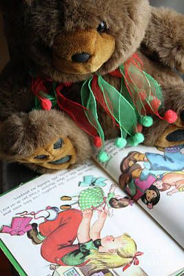 Photograph - Christmas Bear by Mary-Lee Sanders