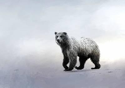 Photograph - Bear Trek by Fraida Gutovich