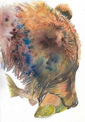 Bear With Salmon Original