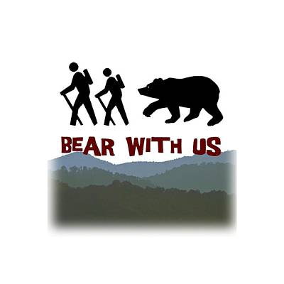 Digital Art - Bear With Us by John Haldane