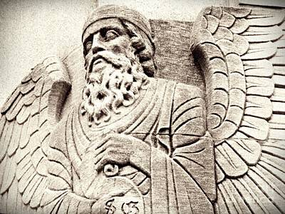 Photograph - Bearded Angel Sepia by Sarah Loft