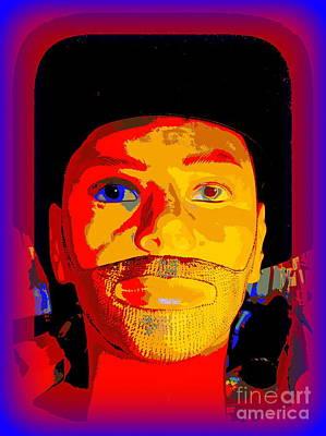 Digital Art - Bearded Bill by Ed Weidman