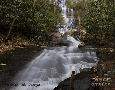 Photograph - Bearden Falls by Barbara Bowen