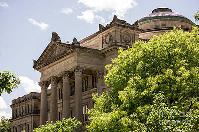 Photograph - Beardshear Hall by David Bearden