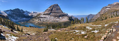Bearhat Mountain Panoramic Landscape Art Print