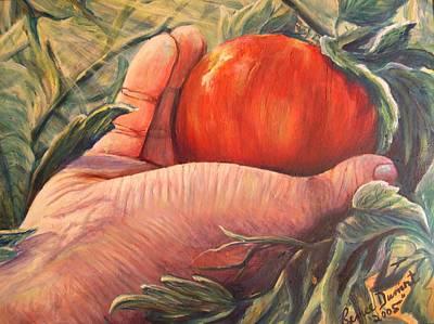 Bearing Good Fruit Art Print by Renee Dumont  Museum Quality Oil Paintings  Dumont