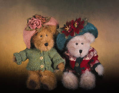 Photograph - Bears And Hats by David and Carol Kelly