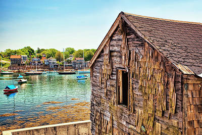 Architectural Photograph - Bearskin Neck by Marcia Colelli