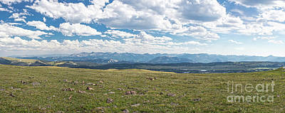 Photograph - Beartooth Highway Panoramic by Jason Kolenda