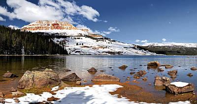 Photograph - Beartooth Lake by Alex Galkin