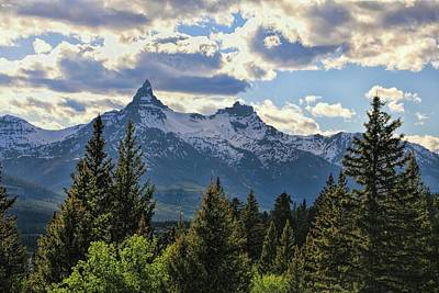 Rocky In Spring Photograph - Beartooth Mountains In Spring by Dan Sproul