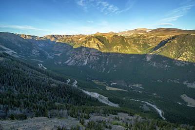 Beartooth Mountain Range Photograph - Beartooth Mountains by Jess Kraft