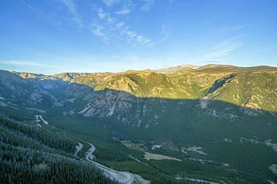 Beartooth Mountain Range Photograph - Beartooth Mountains View by Jess Kraft