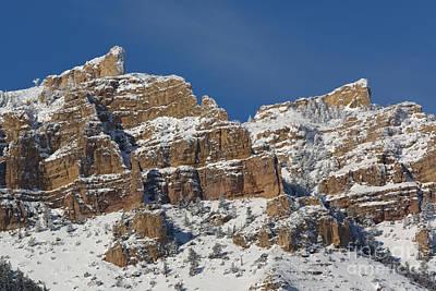Beartooth Mountain Range Photograph - Beartooth Mountains, Wyoming by Jean-Louis Klein & Marie-Luce Hubert