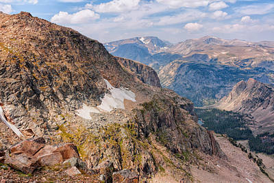 Photograph - Beartooth Pass by John M Bailey