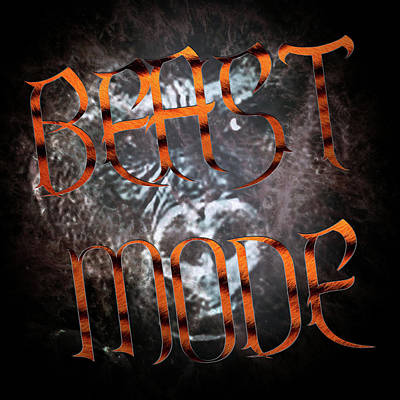 Abstract Works - Beast Mode by Billy Bateman
