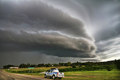 Photograph - Beast Over Yorkton by Ryan Crouse