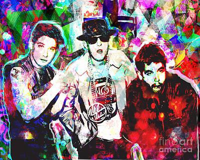 Hip Hop Mixed Media - Beastie Boys Art by Ryan Rock Artist