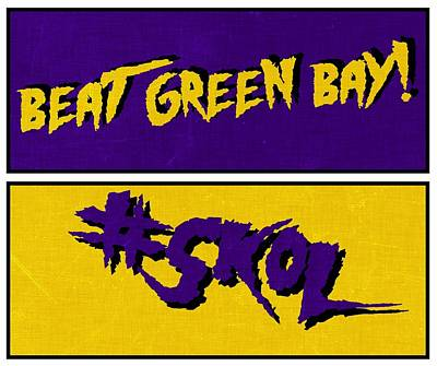Digital Art - Beat Green Bay by Kyle West