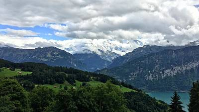 Photograph - Beatenberg, Switzerland by Marty Cobcroft