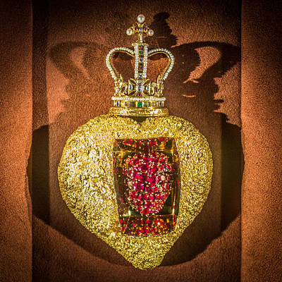 Beating Heart Brooch Salvador Dali Art Print