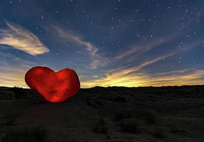 Photograph - Beating Heart by Tassanee Angiolillo