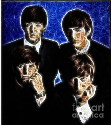 Digital Art - Beatle Art 01 by Stephen Mitchell