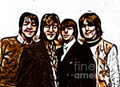 Digital Art - Beatle Art 03 by Stephen Mitchell
