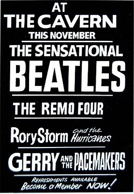 Digital Art - Beatles Concert November 1962 by Steve Kearns
