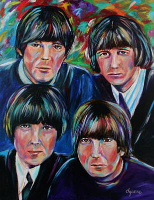 Beatles Art Print by Dyanne Parker