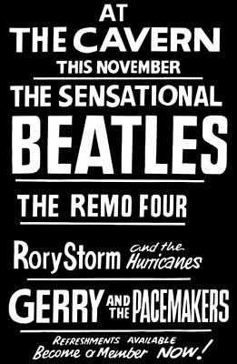 Digital Art - Beatles Poster by Roger Lighterness