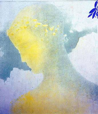 Painting - Beatrice by Odilon Redon