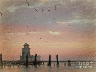 Photograph - Beau Rivage Lighthouse Biloxi by Scott Cameron